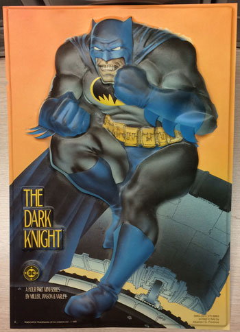 Dark Knight Countertop Promo Display