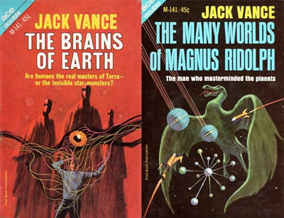 The Brains of Earth/The Many World of Magnus Ridolph