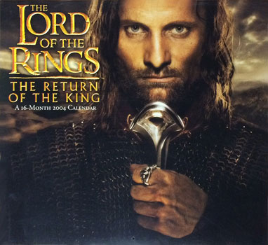 The Lord of the Rings 16-Month 2004 Calendar